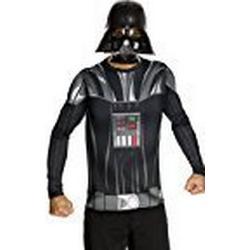 Rubies 3880678 / Kostüm für Erwachsene / Darth Vader Dress up Adult, M, schwarz