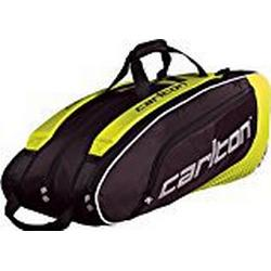Dunlop Badmintontasche Carlton Pro Player 3 Pockets Thermo Bag, Gelb/Schwarz, One size, 5166