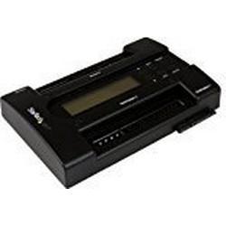 StarTech.com USB auf IDE SATA Festplatten/Duplikator / Standalone Dock Kopierstation für 6,35cm (2,5 Zoll) und 8,90cm (3,5 Zoll) SSD/HDD