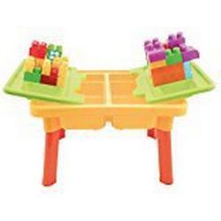 Bieco 06002011 / Kinder Activity Sand und Wasser Spieltisch mit Bauklötze ca. 59 x 42 x 37 cm