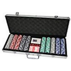 Huangguan MH161144 / Professionelles Poker/Set, schwarz