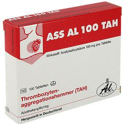 ASS AL 100 TAH Tabletten 100 St