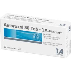 AMBROXOL 30 Tab 1A Pharma Tabletten 20 St