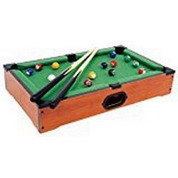 Tischbillard Mimi aus Holz, Geschicklichkeitsspiel auf jeder Tischplatte spielbar, schult spielerisch die Hand/Augen/Koordination, für kleine und große Billard/Fans ab 5 Jahre