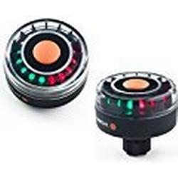 Navi/Safe LED Navigationslicht / Navi Light TriColor 2 NM mit Basis für Sternhalterung