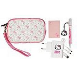 Full Pack Extreme Hello Kitty Soft Weiss 4 in 1 für 3DS, 3DSXL, DS, DS Lite