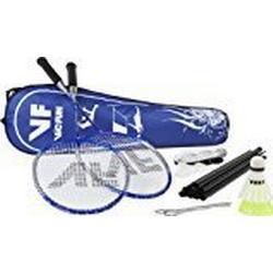 VICFUN Hobby Badminton Set Advanced Mit Netz, Blau, One size, 795/2/2