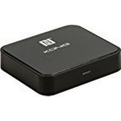 König CSBTRCVR110 Amplified Audio/Sender mit Bluetooth/Wireless/Technologie für Apple iPod schwarz