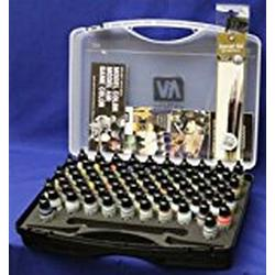 Vallejo Model Air Basic Box Set (72 colours + 3 brushes + carry case) / VAL71170