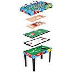 HUDORA Multifunktionstisch 9 in 1 / Kicker/Tisch Billardtisch / Spieltisch