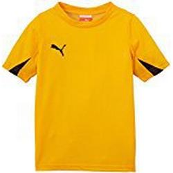 PUMA Kinder T/Shirt, Team Yellow/Black, 164, 701269 07