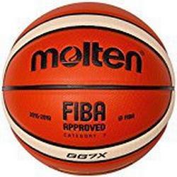 molten Basketball, Orange/Ivory, 7, BGG7X/DBB