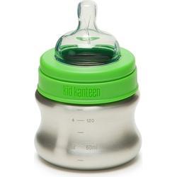 Klean Kanteen 148ml Baby Bottle Kleinkind Trinkflasche - Brushed Stainless