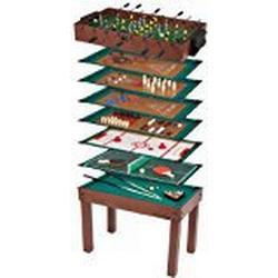 Ultrasport Spieltisch 12/in/1 Game Zone, Tischgröße 107 x 61 x 80 cm