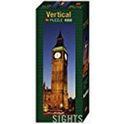 Heye 29668 / Vertikalpuzzle, Sights Big Ben, 1000 Teile