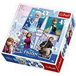 Trefl 4/in/1 Frozen Puzzle