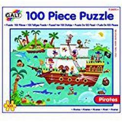 Galt Toys Piraten Puzzle (100, mehrfarbig)