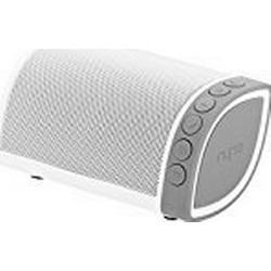 Nyne Cruiser Universal Wiederaufladbarer Robuster Portabler Bluetooth Wireless Lautsprecher mit Integriertem Mikrofon / Grau/Weiß