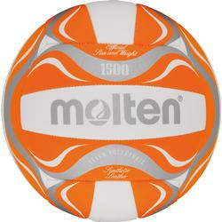Molten BV1500-OR Beachvolleyball Freizeitball orange-wei�