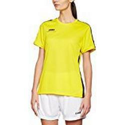 JAKO Damen T/Shirt Striker, citro/schwarz, 38/40, 6116