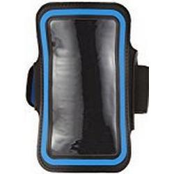 Pro Touch Smartphone Armpocket Handy/Armband, Schwarz/Blau, XL