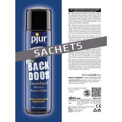 Pjur Backdoor Comfort Anal Glide Sachet 2ml Lubricant Anal Sex