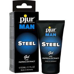 Pjur Man Steel Gel 50ml Lubricant Aktverlängernd