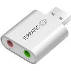 Terratec 2.0 Soundkarte, Extern Aureon Dual USB Mini externe Kopfhöreranschlüsse