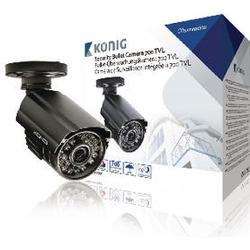 Koenig Security Camera With 700 Tv Lines Cable 18 M Included 715 Gr
