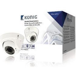 Koenig Dome Security Camera With Varifocal Lens White 794 Gr