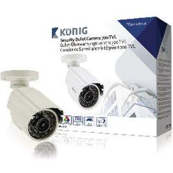 Koenig Security Camera With 700 Tv Lines Cable 18 M Included 716 Gr