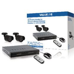 Valueline Recording System For Security Cameras 4,25 Kg