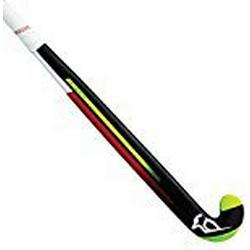 Kookaburra Team Dragon/36.5M Hockeyschläger, Schwarz / Rot / Weiß, Medium