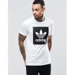 adidas Originals - T-Shirt mit Logo, AY8899 - Weiß