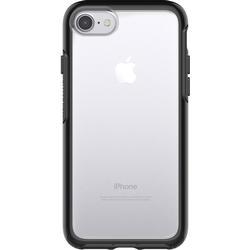 OtterBox Symmetry Clear hoch/transparente sturzsichere Schutzhülle für iPhone 7, Schwarz Crystal
