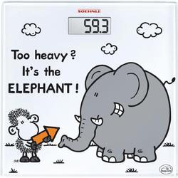 Soehnle Digitale Personenwaage Sheepworld too heavy Wägebereich (max.)=180 kg Weiß