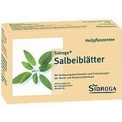 SIDROGA Salbeiblätter Tee Filterbeutel 20 St