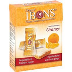 IBONS Orange Ingwerkaubonbons Orig.Schachtel 60 g