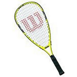 Wilson Squash/Schläger, Mädchen/Jungen, Junge Spieler, Ripper Junior, WRT913000, Gelb/ Schwarz