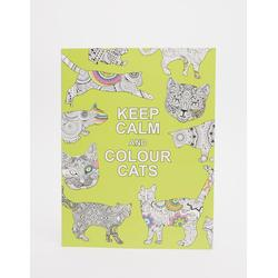 Keep Calm & Colour Cats - Malbuch - Mehrfarbig