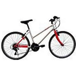 F. LLI Schiano Thunder Lady Evo Berg/Fahrrad, Weiß/Rot, M