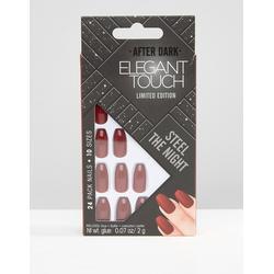 Elegant Touch - After Dark - Limited Edition - Kunstnägel - Coffin - Rot