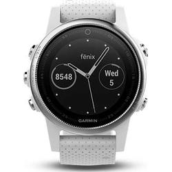 GARMIN Fenix 5S, Smart Watch, 220 mm, Silber/Schwarz