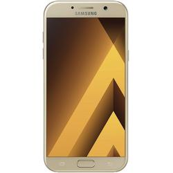 Samsung Galaxy A3 (2017) Smartphone (12,04 cm (4,7 Zoll) Touch/Display, 16 GB Speicher, Android 6.0) blau