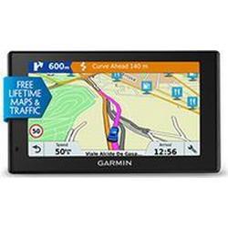 GARMIN Navigationssystem 12,7cm Glasdisplay Zentraleuropa inkl. Tasche DriveSmart 51 LMT-D-CE