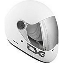 TSG Vollvisierhelm Pass Solid Color, Satin White, L, 750086