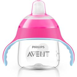 AVENT Sip No Drip Becher 200 ml pink 1 St