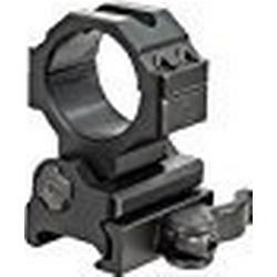 UTG TG 30mm Flip/To/Side, Picatinny/Weaver QD Ring Mount Lampenhalterung, Schwarz, One Size