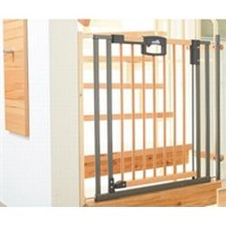 GEUTHER Treppengitter Easylock  -  2793 Wood, 84,5-92,5cm