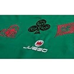 Juego JU00605 Embroidery Pokerteppich 180 x 140 cm / Grün